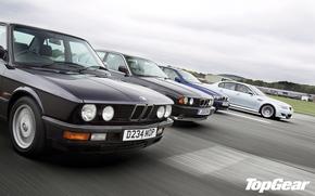 Top Gear, Top Gear, la mejor demostracin de la TV y la revista, BMW, supersedan, clsico, BMW
