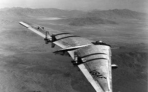 yb49, самолёт, крыло
