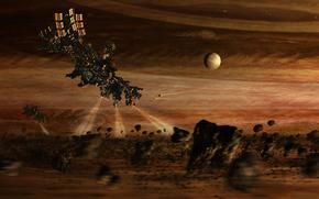 Giove, Satelliti, Anello, Asteroids