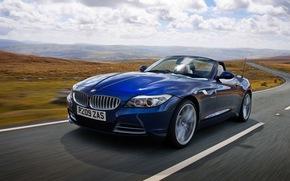 обои авто, авто, скорость, движение, BMW