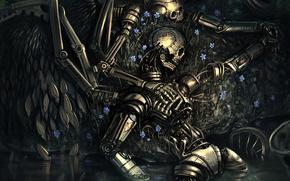 Robot, Scheletri, amore