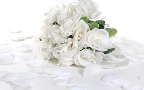 White Rose, Chapelet, romance, tendresse