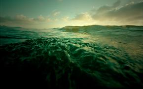 ocan, eau, vague