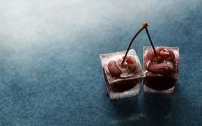 cherry, ice, two