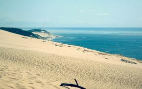 natura, paesaggio, paesaggi, spiaggia, sabbia, mare, oceano