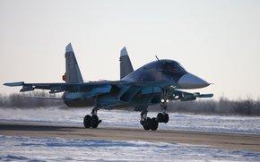 de primera lnea atacante, secar, Fuerza Area de Rusia, despegue