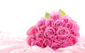 fiori, Roses, fiori rosa, rosa rose, mazzo di fiori, Elegante, Buds, Lenzuola, Seta, tessuto, Carta da parati, Sfondi, migliore immagine di sfondo del desktop, Sfondi desktop gratis, wallpaper widescreen, Widescreen, scaricare gli sfondi, circa