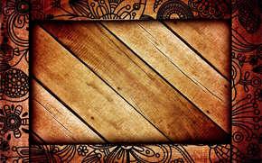 textura, fondo, rbol, marco, los patrones de, Flores, Ptalos