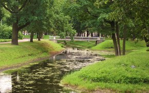 petersburg, The Tauride Gardens, landscapes