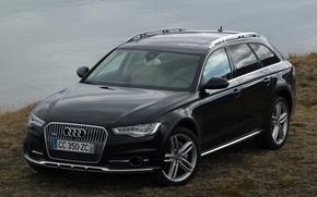Audi, A6, allroad, Touring, cars, machinery, Car