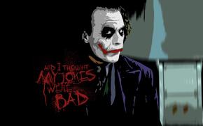 Joker, Heath Ledger, The Dark Knight