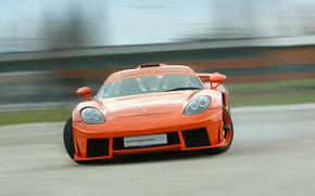 Sintonia, slittare, Porsche