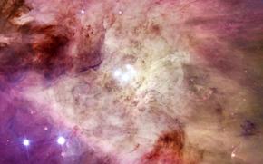 nebula, gas, chaos