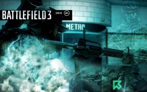 metro, soldier