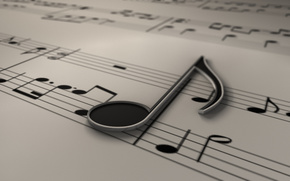 Punteggio, musica, chiave