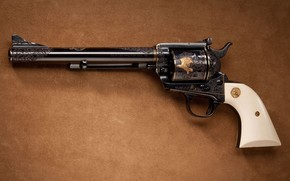 револьвер, оружие, узоры