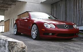 cabriolet, colata, Mercedes