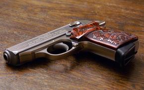 pistola, rukryat, arma