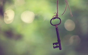 key, rope, node, focus, vanilla, bokeh