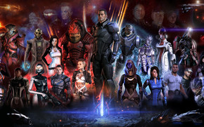 Mass Effect, Personaggi, Heroes