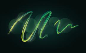 linea, cerchio, sfondo, scuro