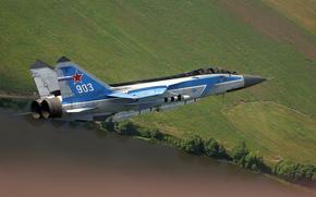 Истребитель, МиГ-31, полет