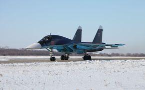 бомбардировщик, Су-34, старт
