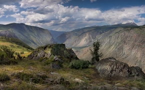 Горный Алтай, перевал Кату-Ярык, река Чулышман, Бантуризм, Мобиба
