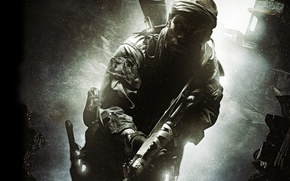 soldier, muzhik, automatic, knife