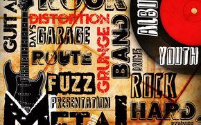 musica, direzione, rock, chitarra, stile