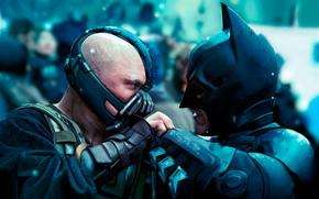 Batman, scuro, cavaliere