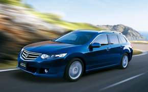 Honda, accordo, Tourer, carro, macchina, carriola, auto, strada, velocit, carta da parati, Honda