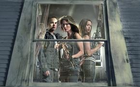 terminatore, Battaglia per il futuro, serie, attori, finestra