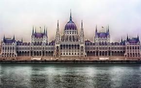 Budapest, architettura, citt, fiume