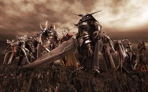 weapon, armor, Warriors