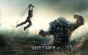 The Witcher, Geralt, bataille