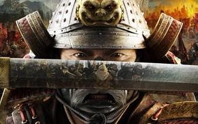 Sogun, 純然たる戦争, 戦争, stranegiya, ゲーム, igrulya, 日本, 侍, カタナ, マスク, 鎧, 剣