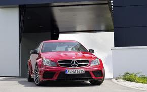 Mercedes-Benz, MB, Classe C, scomparto, macchina, carriola, Mears, cavallo castrato, Auto, carta da parati, Germania, Mercedes