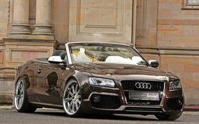 Audi, cabriolet, carriola, Senner tuning, Auto, carta da parati, Audi
