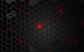 背景, テクスチャー, 五角形, 赤, srysis