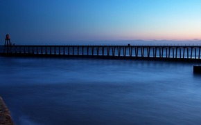мост, океан, португалия
