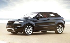 car, Land Rover, SUV, black, new, wallpaper, Land Rover