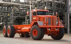Kenworthy, camion, trattore, rosso, anteriore, tubo, Altre macchine e attrezzature