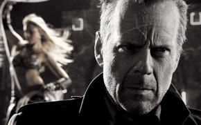 Город грехов, Sin City, бар, Брюс Уиллис, Bruce Willis, Джессика Альба, Jessica Alba, фильм, фильмы, кино