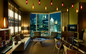 interior, design, megalopolis, Townhouse, style, Urbanism, living room