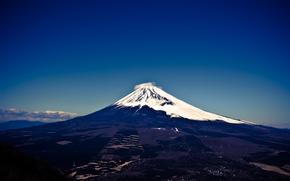 Japan, mountain, volcano, island, Honshu, Fuji, Fuji, Fudzisan