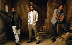Three Kings, George Clooney, Mark Wahlberg, Ice Cube