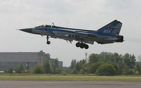 combattente, MiG-31, decollo