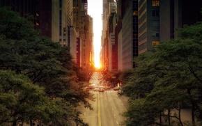 街道, 家, 太阳