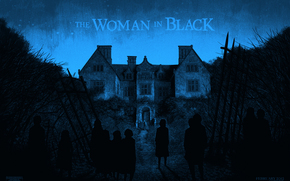 Woman in Black, home, Ghosts, night, fence, Mansion, Daniel Radcliffe